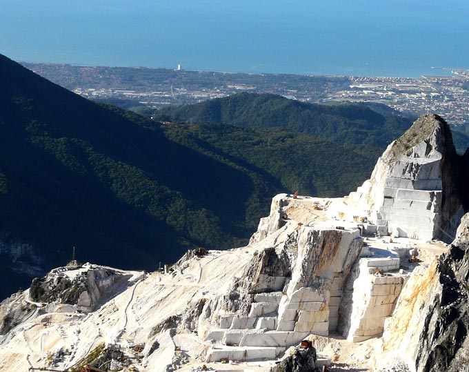 Les caves de marbre